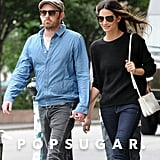 Lily Aldridge Supports Her Man Before His Big Gig