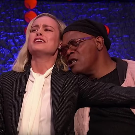 "Samuel L. Jackson and Brie Larson Sing ""Shallow"""