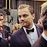 Leonardo DiCaprio arrived looking dapper, as usual.