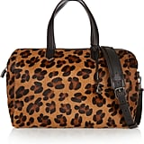 Elizabeth and James Scott Leopard-Print Calf Hair Duffle Bag