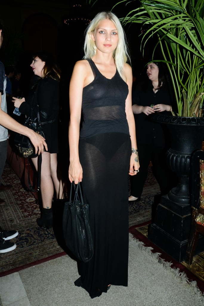 Katie Gallagher joined Jessica Stam at her Jane Hotel party.