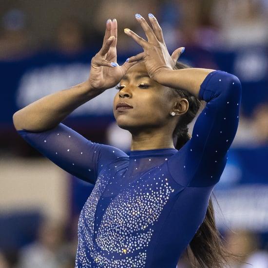 Watch Nia Dennis's Gymnastics Routines