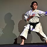 Sakura Kokumai, Karate