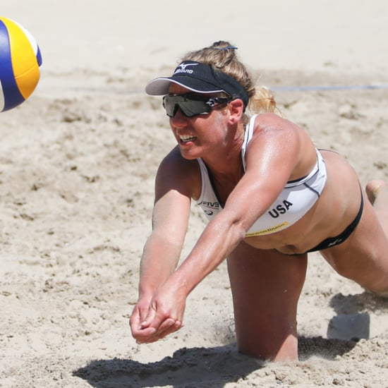 Olympic Training Schedule For Volleyball Player April Ross