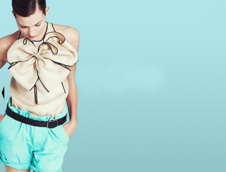 Exploding Bow Blouse, $225