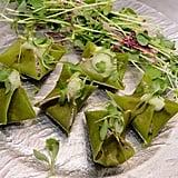 Fold Up Raw Dumplings