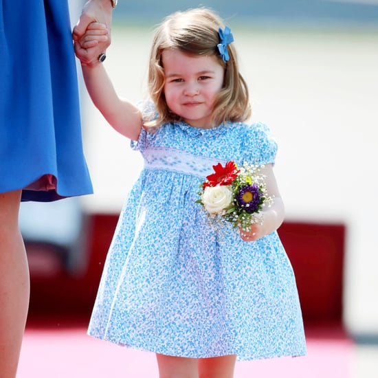 Princess Charlotte Curtsy in Poland Video 2017