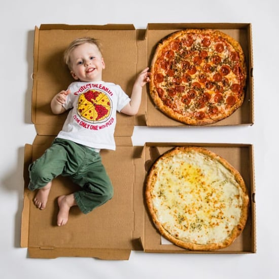 Update to Baby's Viral Monthly Milestones in Pizza Slices