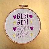 """Bidi Bidi Bom Bom"" Hoop"