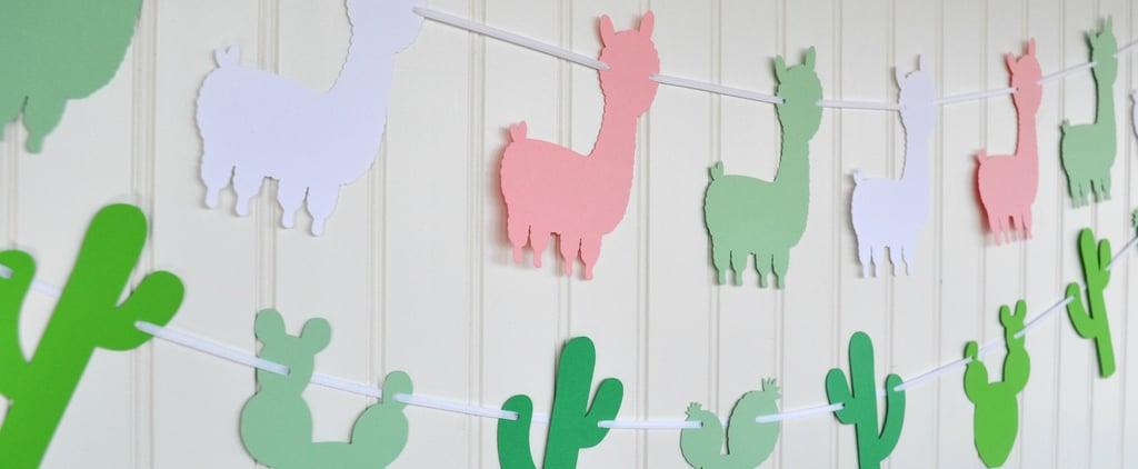 Llama Baby Shower Ideas
