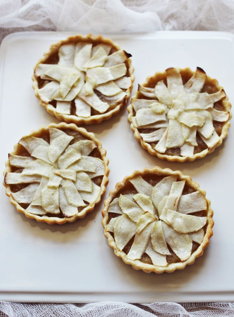 Honey and Whiskey Apple Tarts
