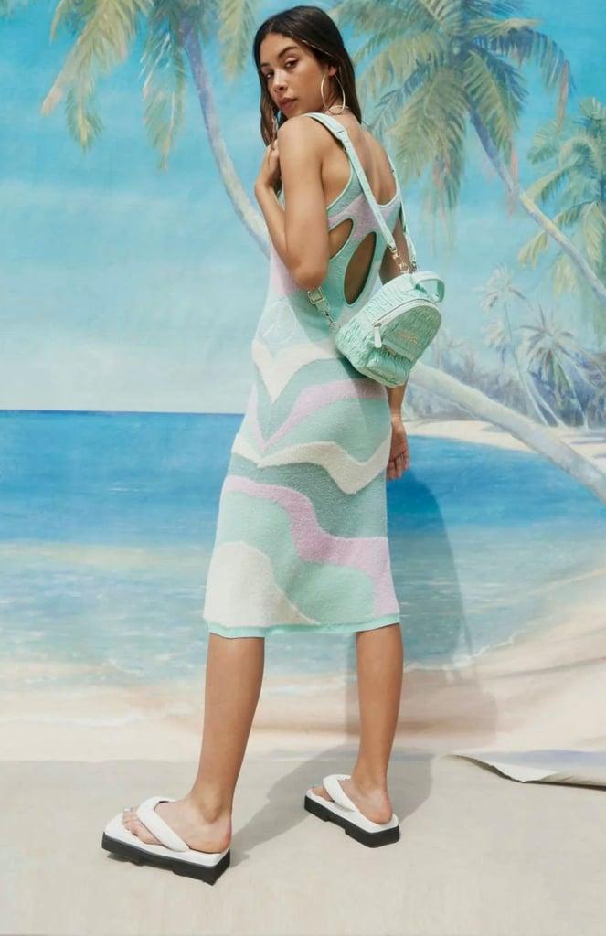 Shop Wavy Dresses: House of Sunny Good Vibrations Dress