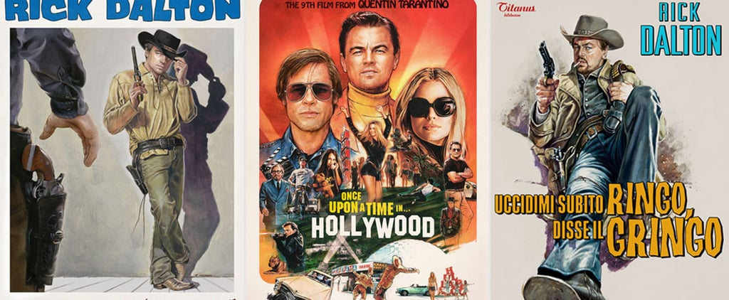 Once Upon a Time in Hollywood Movie Posters