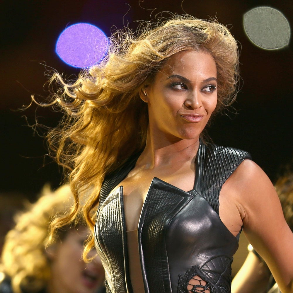 Gold Nails, Curls + Sasha Fierce: Beyoncé's Super Bowl Half-Time Show