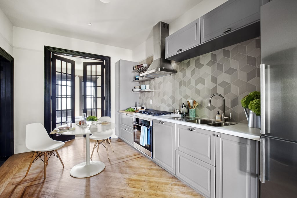 Flirty French Doors Ikea Small Kitchen Ideas Popsugar Home Photo 21
