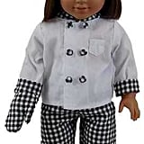 Chef's Doll Clothing Outfit and Shoes