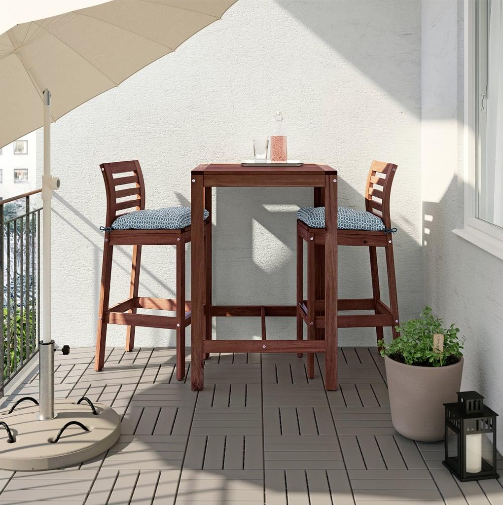 Äpplarö Bar Table With 2 Bar Stools
