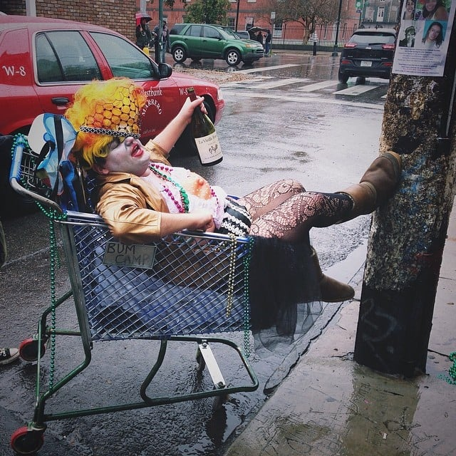 And some woke up in shopping carts, dressed in terrifying clown attire.