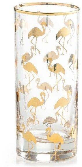 Rosanna Flamingo Highball Glasses