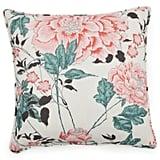 Vintage Floral Decorative Throw Pillow