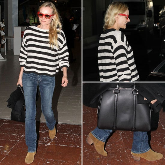 Diane Kruger's Airport Style | No. 20, 2012