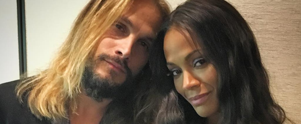 Zoe Saldana and Marco Perego Are Officially the Most Romantic Celebrity Couple on Instagram