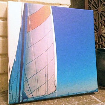 CanvasPop Instagram Wall Print Review and Picture