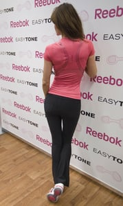 Pictures of Supermodel at Reebok EasyTone Event