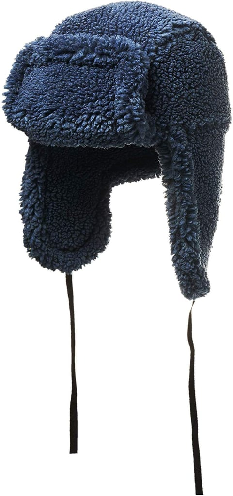House of Fluff Faux-Fur Shearling Hat
