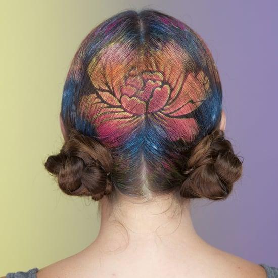 Hair Stencil DIY