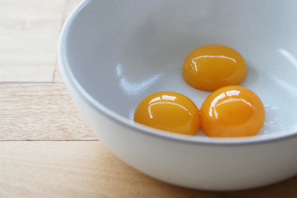 Add leftover egg yolks to your morning scramble.