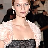 """Claire oozed French sophistication at the 2005 Met Gala, where the theme was (appropriately) """"Chanel."""""""