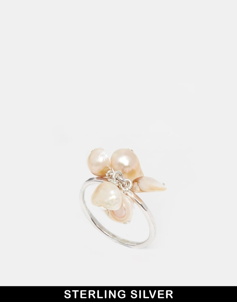Sam Ubhi Silver Pearl Ring