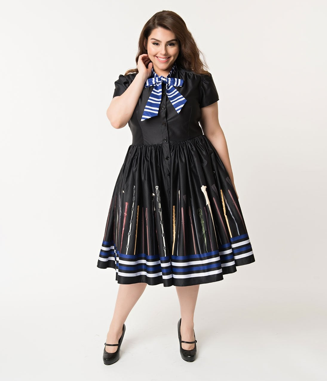 Plus-Size Rowena Swing Dress | These Charming, Witchy ...