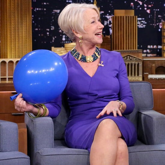 It's Hysterical to Watch Helen Mirren Get Interviewed While on Helium
