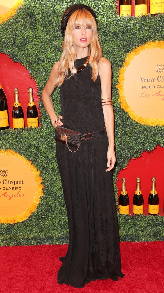If ever there was a style setter to convince us to wear a turban and a fanny pack at the same time, it's Rachel Zoe. At the polo classic, she did just that — and looked amazing to boot.