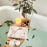 Me Time Bamboo Bath Tray Caddy