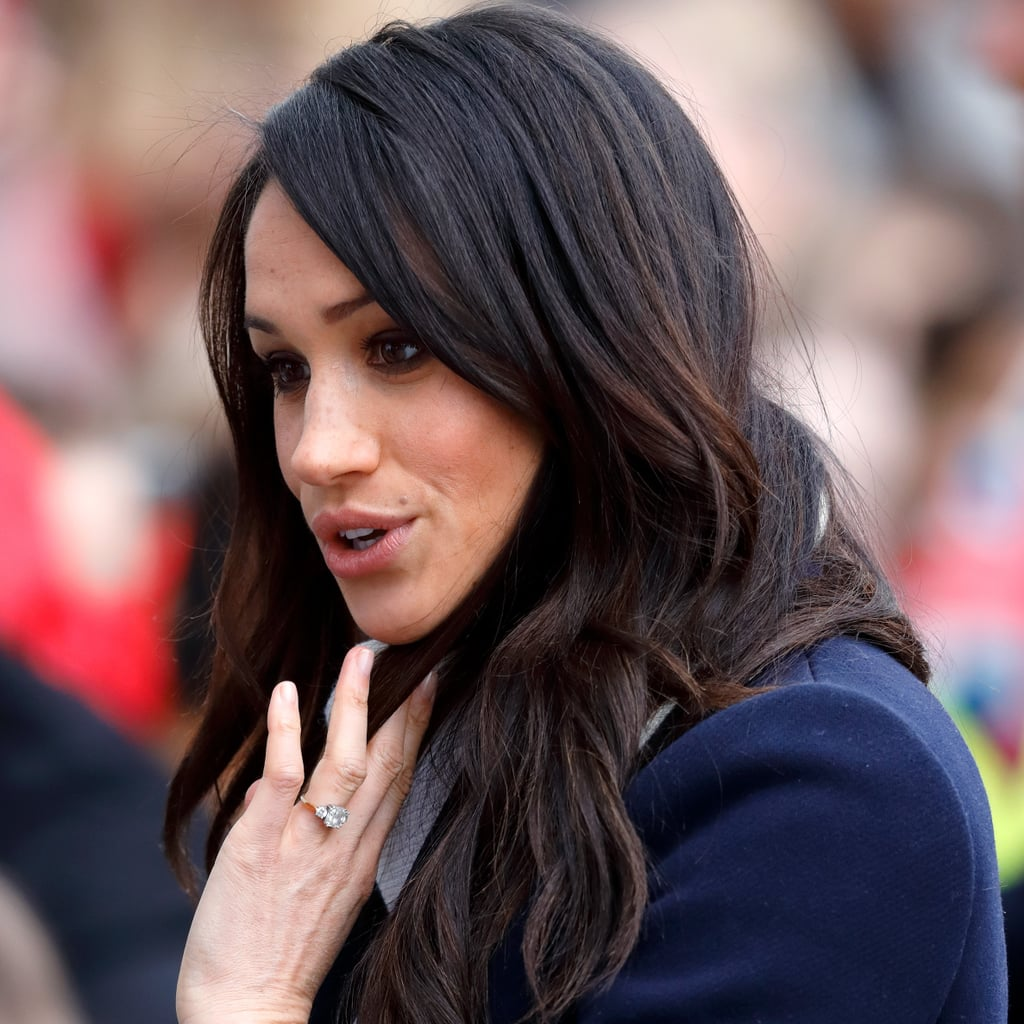 did meghan markle get red highlights popsugar beauty
