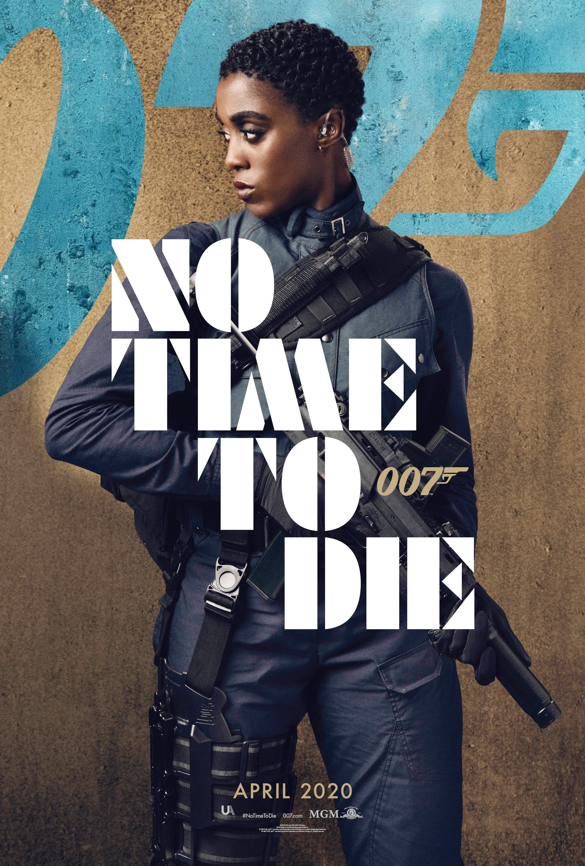 NO TIME TO DIE, US character poster, Lashana Lynch as Nomi, 2020.  MGM / courtesy Everett Collection