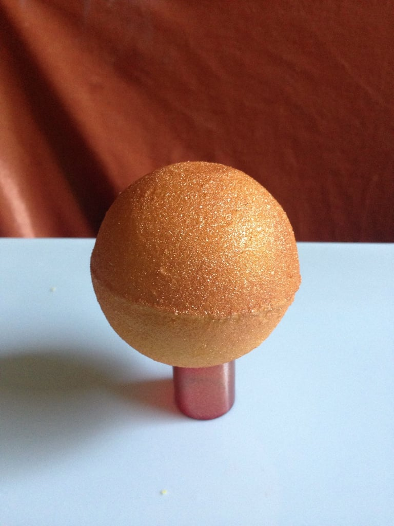 GeorgiaCharms Surprise Golden Snitch Bath Bomb