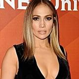 Jennifer Lopez With a Gold Lob