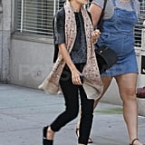 Ashley Olsen stepped out in TOMS.