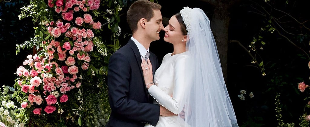 Miranda Kerr Doesn't Need a Filter For Her Gorgeous Wedding to Snapchat's Evan Spiegel