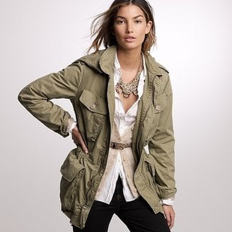 Stylish Army Fatigue Jacket