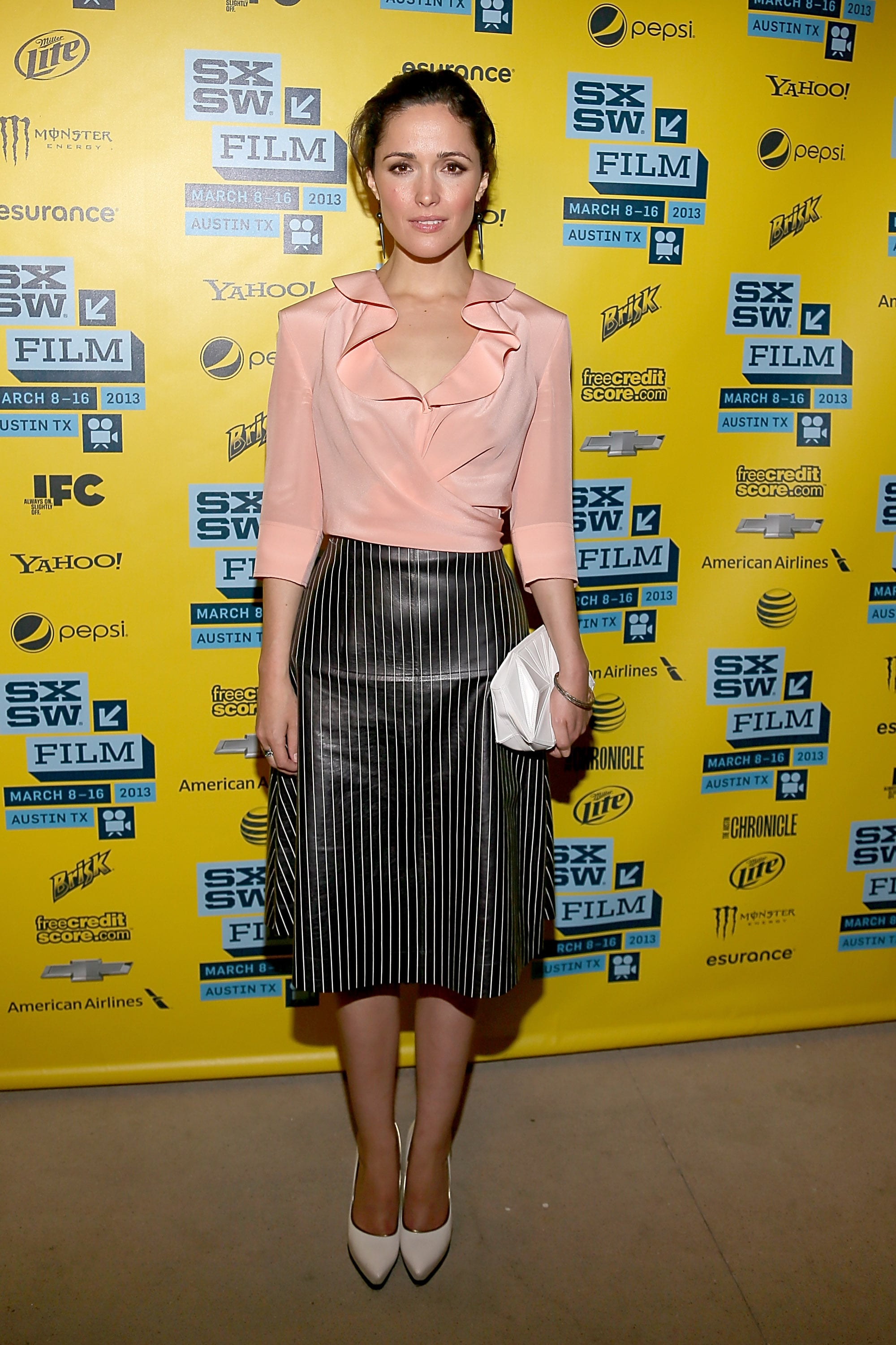 Rose Byrne stepped out for the SXSW premiere of I Give It a Year.