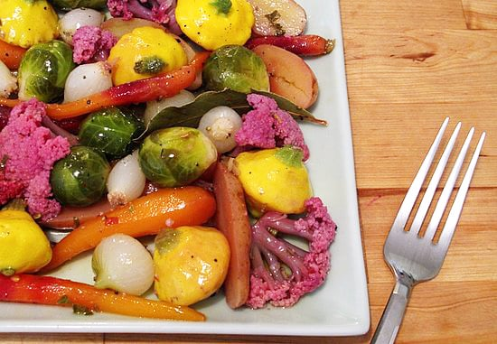 Quick-Pickled Baby Vegetables