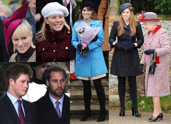 Photos Of Prince William With a Beard, Prince Harry plus the Royal Family on Christmas Day in Sandringham