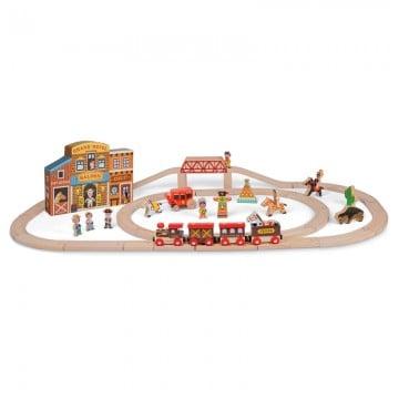 Janod Far West Magnetic Train Set