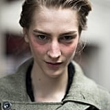 Ros Georgiou had us asking: why let the cold flush your cheeks when you can just do it yourself? Source: Le 21ème   Adam Katz Sinding