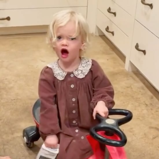 James Van Der Beek's Daughter Gwendolyn Yelling Fuck | Video